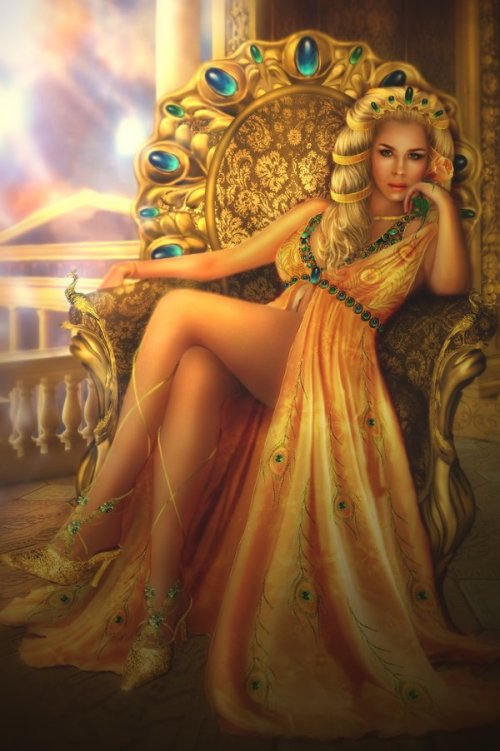 Hera_Juno_Greek_Goddess_Art_02_by_liliaosipova